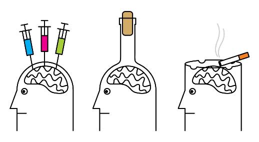 Drogfüggőség, alkoholfüggőség, szenvedélybetegségek